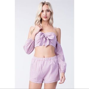 🆕Gingham Shorts